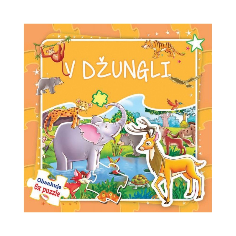 FONI BOOK - Puzzle kniha V džungli