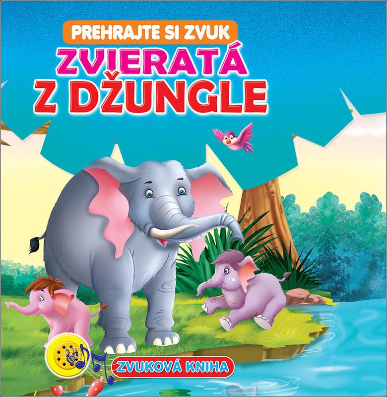 FONI BOOK - Zvuková kniha Zvieratá z džungle