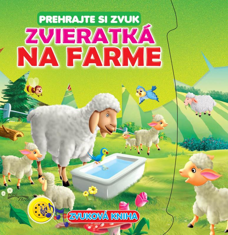 FONI BOOK - Zvuková kniha Zvieratká na farme