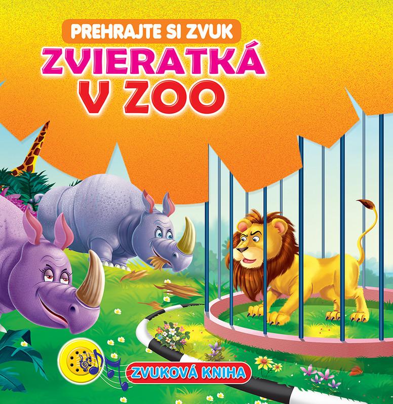 FONI BOOK - Zvuková kniha Zvieratká v ZOO