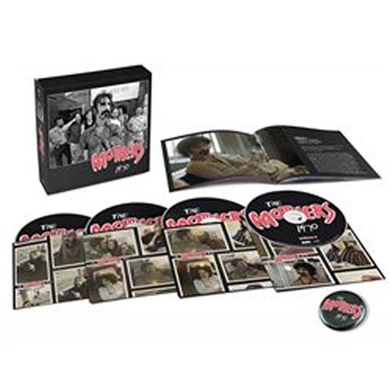 Frank Zappa: The Mothers 1970 - 4 CD - Frank Zappa