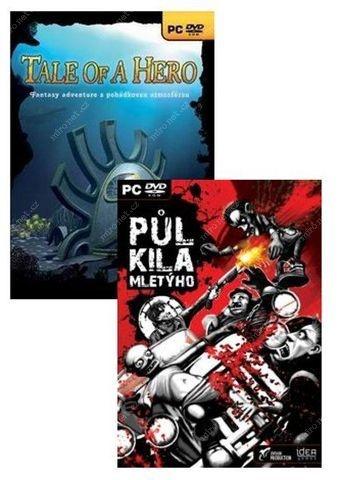 FUTURE GAMES - PC CZ adventure (2v1) -1/2 kilá mletého & Tale of Hero