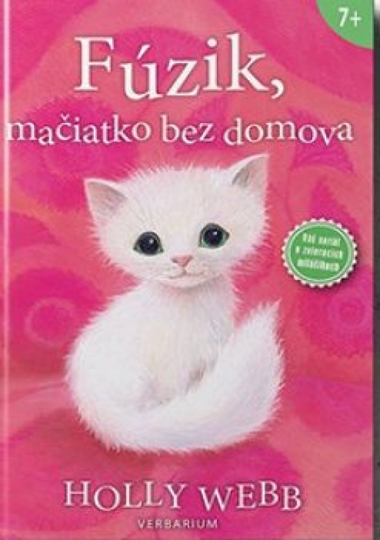 Fúzik, mačiatko bez domova - 2. vydanie - Webb Holly