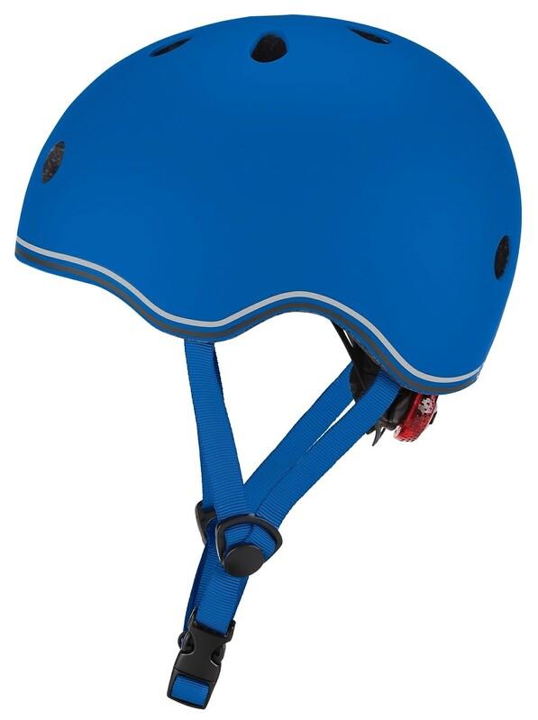 GLOBBER - Detská helma Go Up Lights Navy Blue XXS/XS