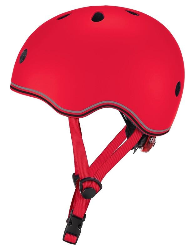 GLOBBER - Detská helma Go Up Lights New Red XXS/XS