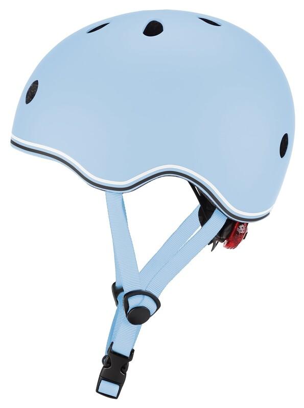 GLOBBER - Detská helma Go Up Lights Pastel Blue XXS/XS