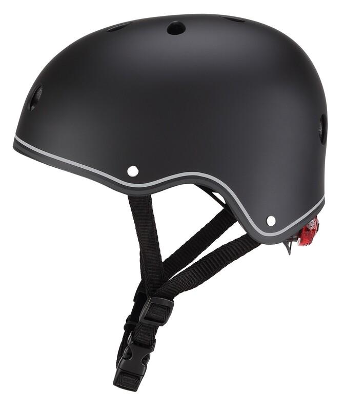 GLOBBER - Detská helma Primo Lights Black XS/S