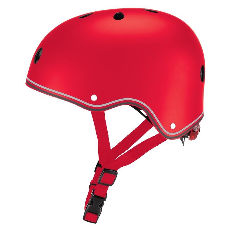 GLOBBER - Detská helma Primo Lights New Red XS/S
