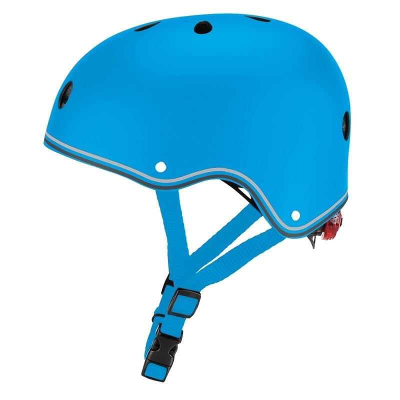 GLOBBER - Detská helma Primo Lights Sky Blue XS/S