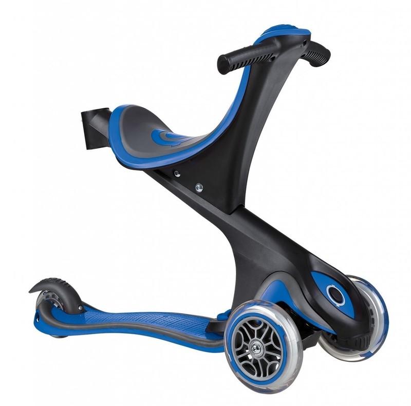 GLOBBER - Kolobežka Evo Comfort 5 v 1 Navy blue