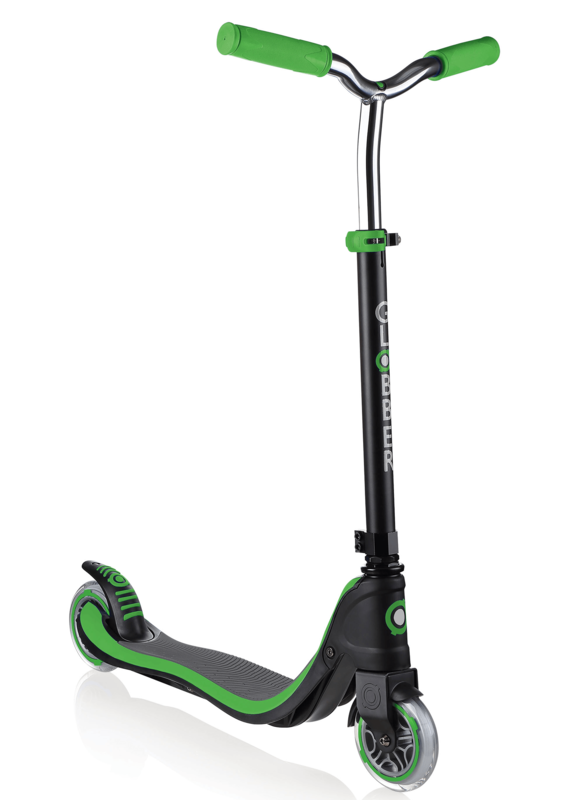 GLOBBER - Kolobežka Flow 125 Black / Neon Green