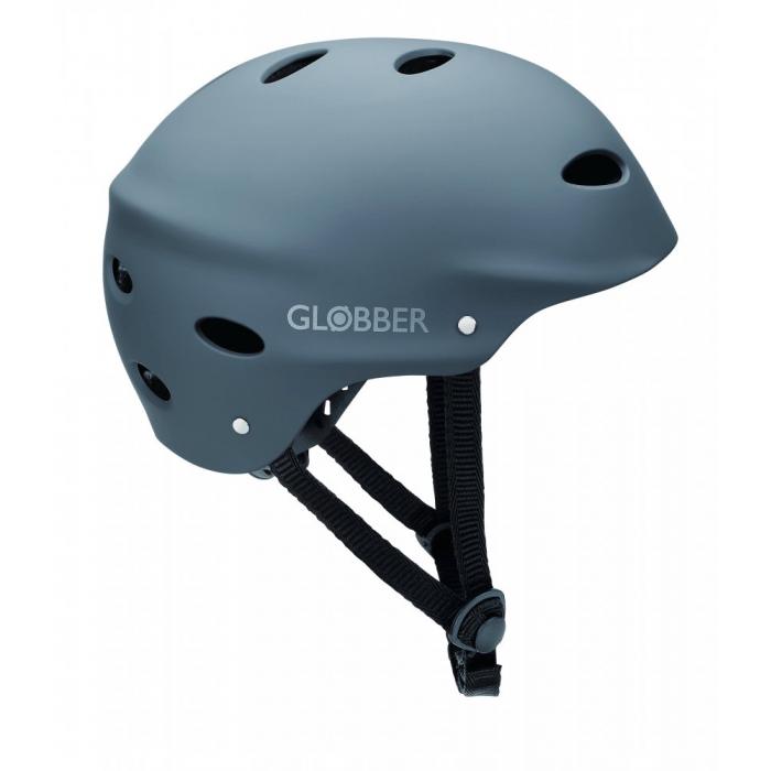 GLOBBER - prilba pre dospelých ADULTS Lead Grey M (57-59 cm)