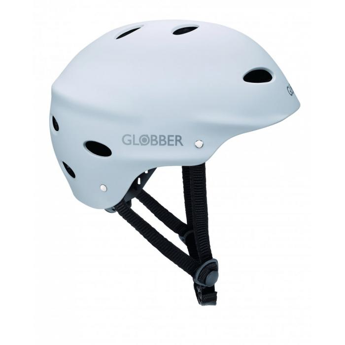GLOBBER - prilba pre dospelých ADULTS White M (57-59cm)