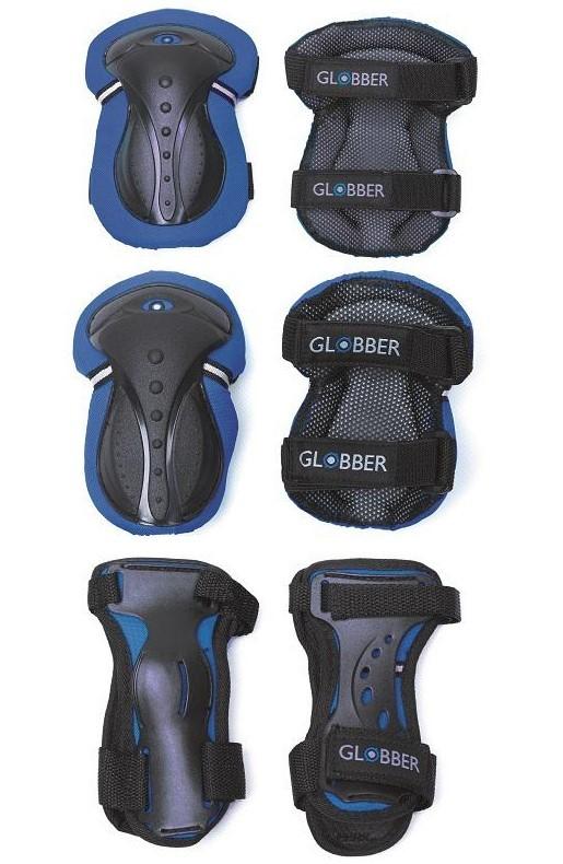 GLOBBER - Sada chráničov pre juniorov XXS - navy blue