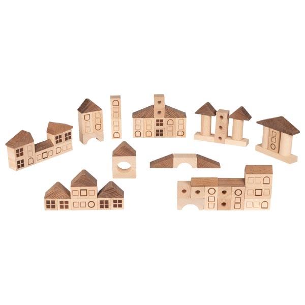 GOKI - Kocky drevené Mestečko