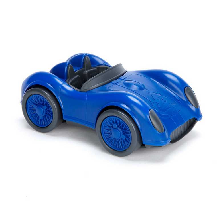 GREEN TOYS - Modré závodné auto