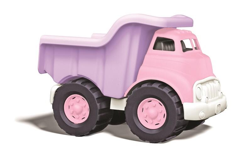 GREEN TOYS - Nákladní auto růžové