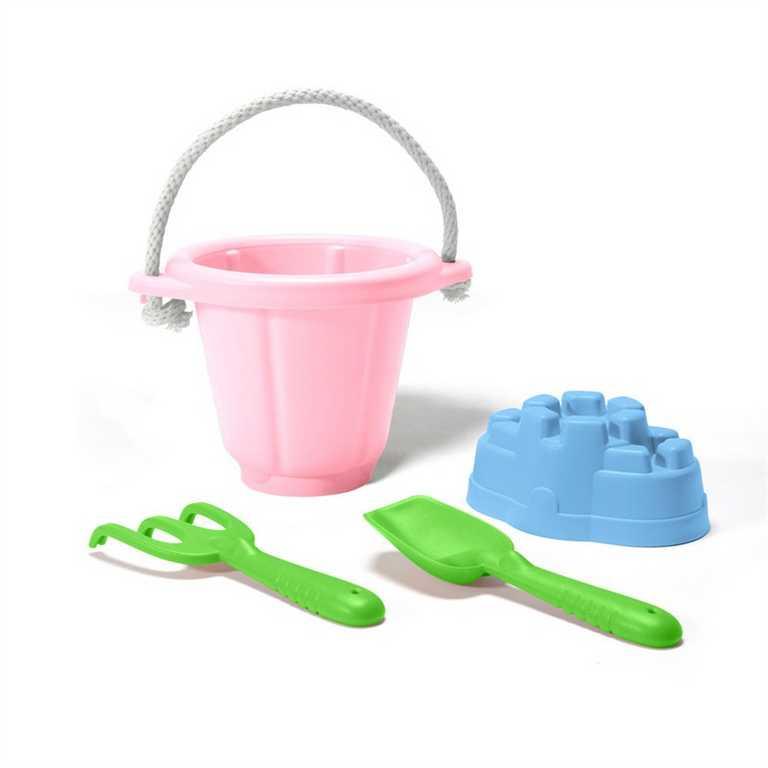GREEN TOYS - Rúžový set na piesok
