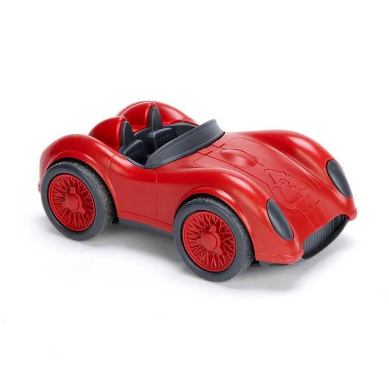 GREEN TOYS - Závodné auto červené