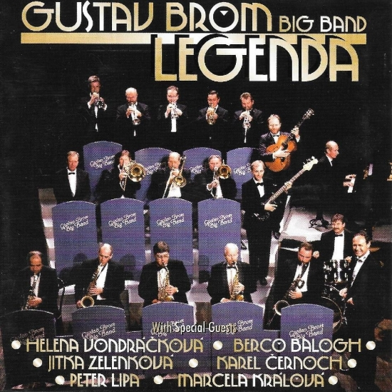 Gustav Brom Big Bend Legenda - Kolektív autorov
