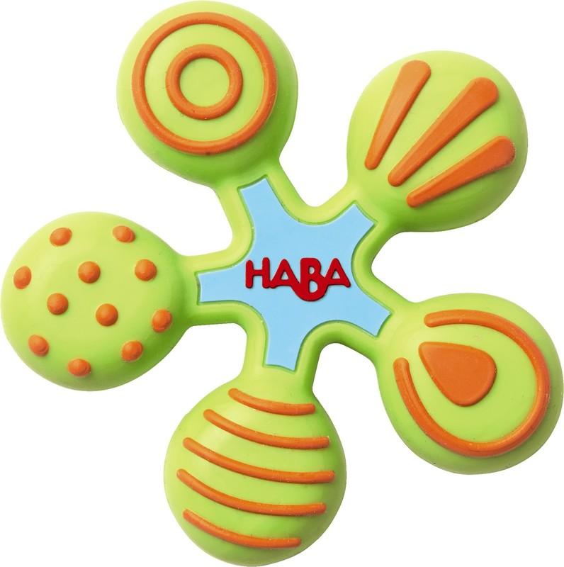 HABA - Hryzadlo silikónové Hviezdička