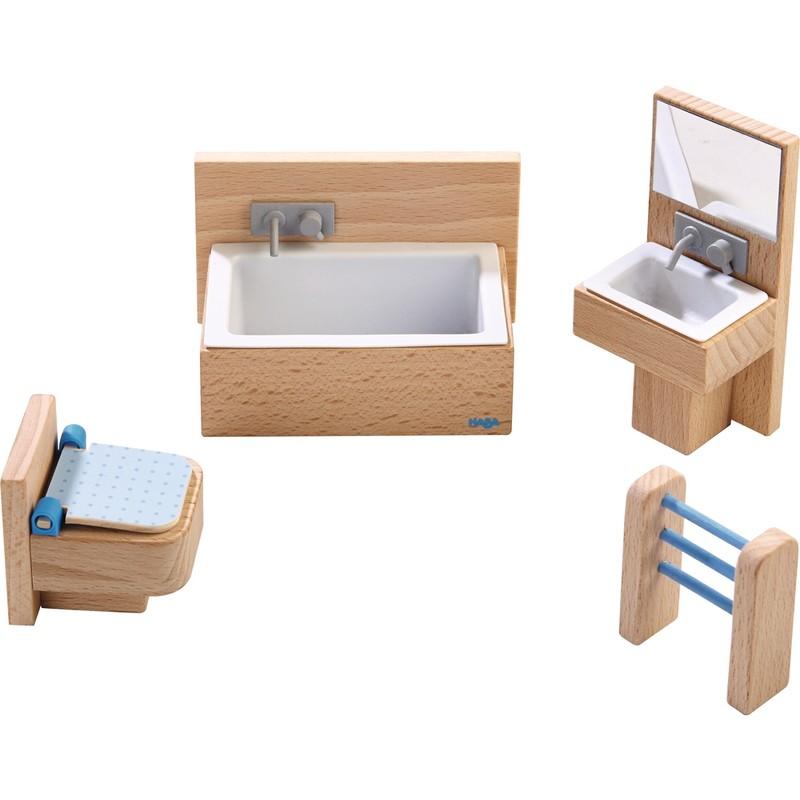 HABA - Little Friends nábytok do domčeka Kúpeľňa