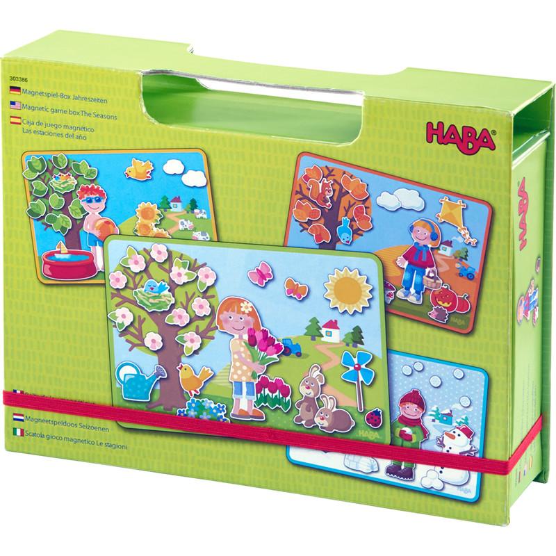 HABA - Magnetická hra v kufríku Ročné obdobia