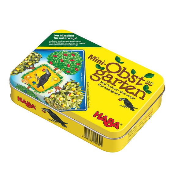 HABA - Ovocný sad mini - hra v plechovke