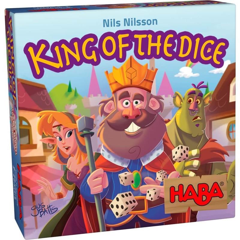 HABA - Spoločenská hra Kráľ kociek