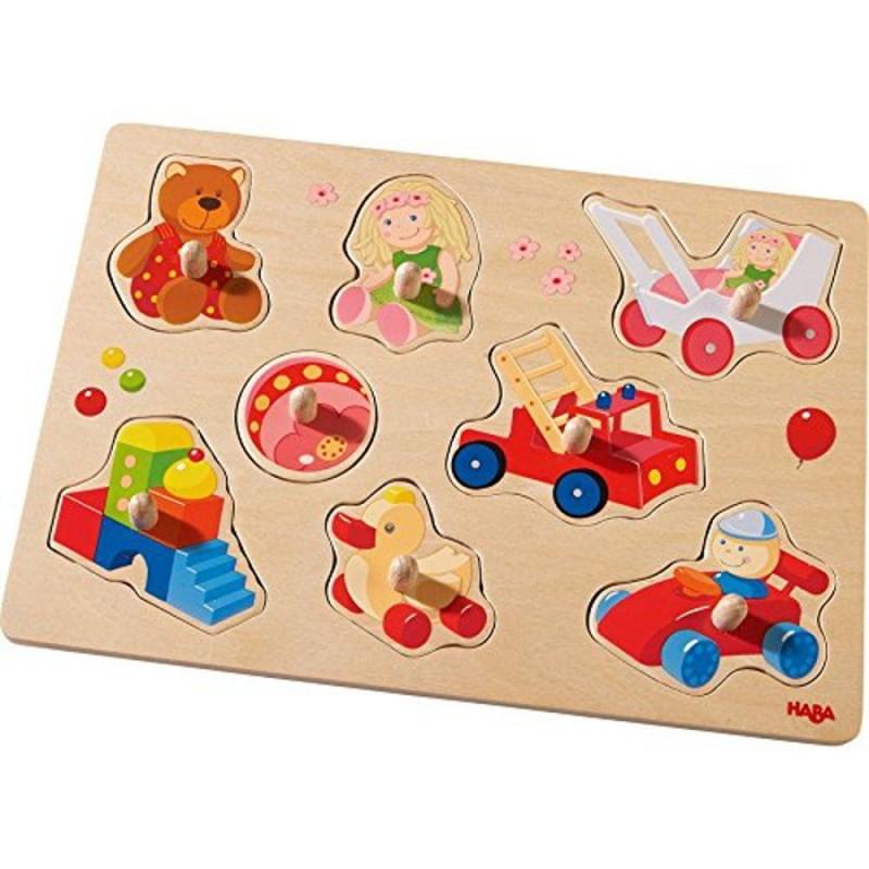 HABA - Vkladacie puzzle Moje prvé hračky