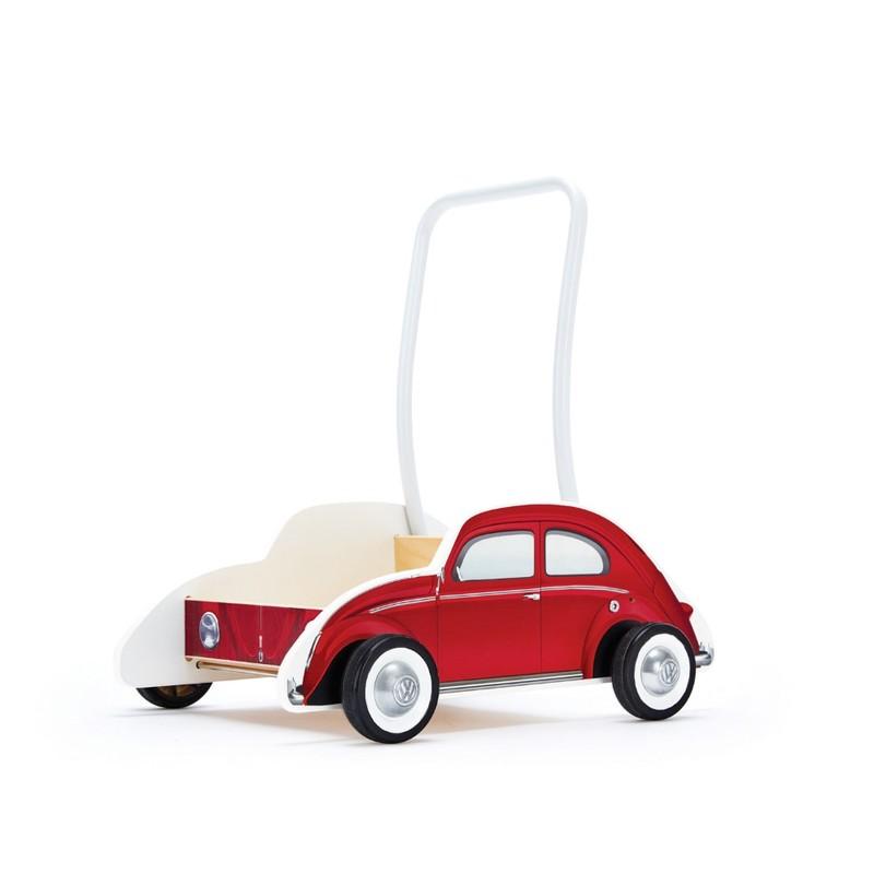 HAPE - Auto na tlačenie VW červené