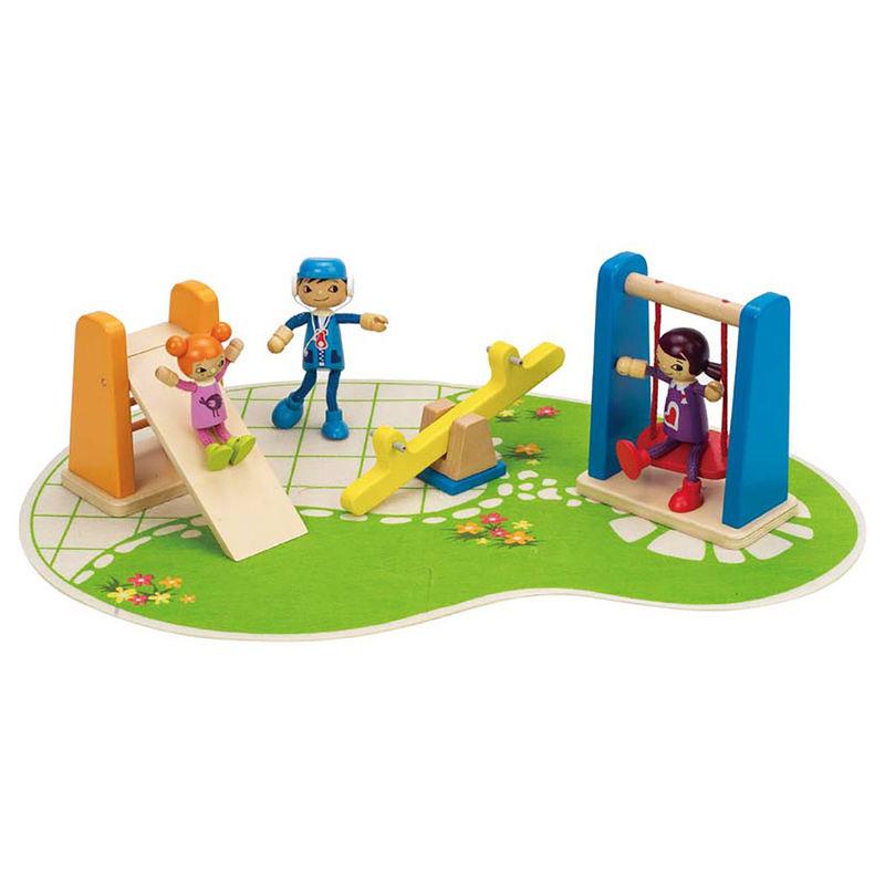 HAPE - Detské ihrisko k domčeku pre bábiky