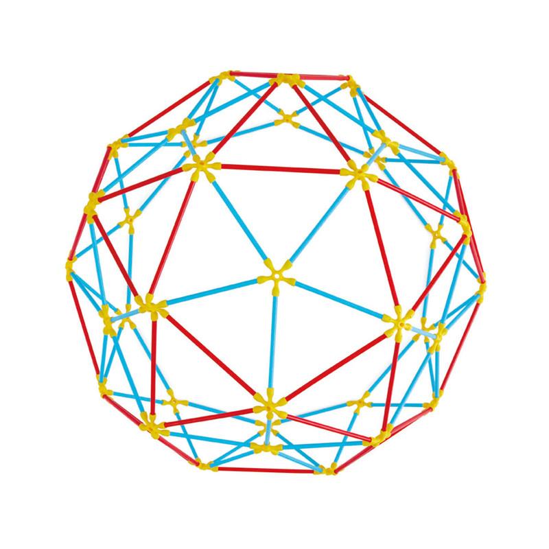 HAPE - Flexistix bambusová skladačka Geodetické štruktúry