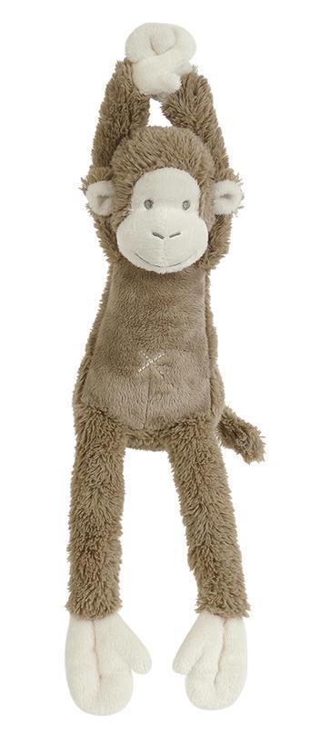 HAPPY HORSE - hudobná Opička Mickey - Hnedá