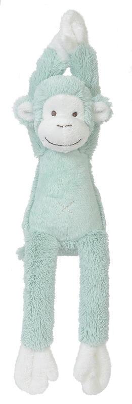 HAPPY HORSE - hudobná Opička Mickey - Tyrkys