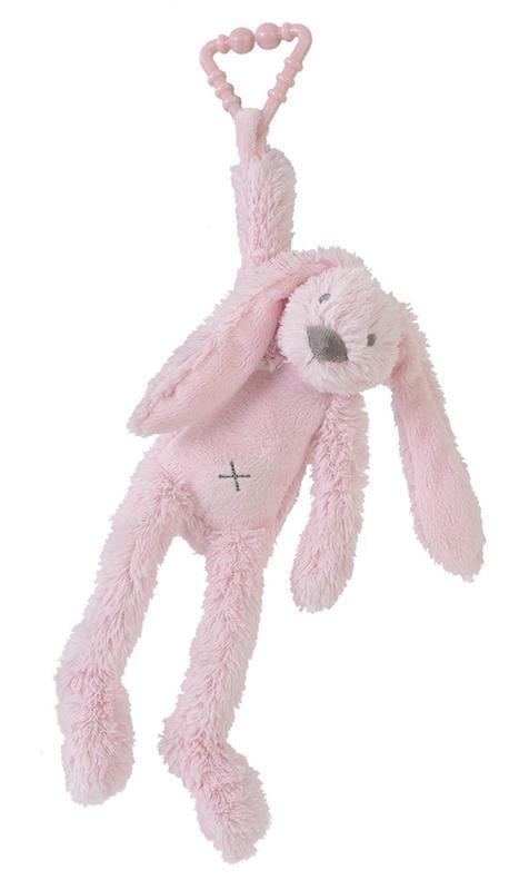 HAPPY HORSE - králik Richie na zavesenie - Ružový
