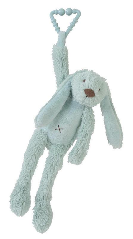 HAPPY HORSE - králik Richie na zavesenie - Tyrkys