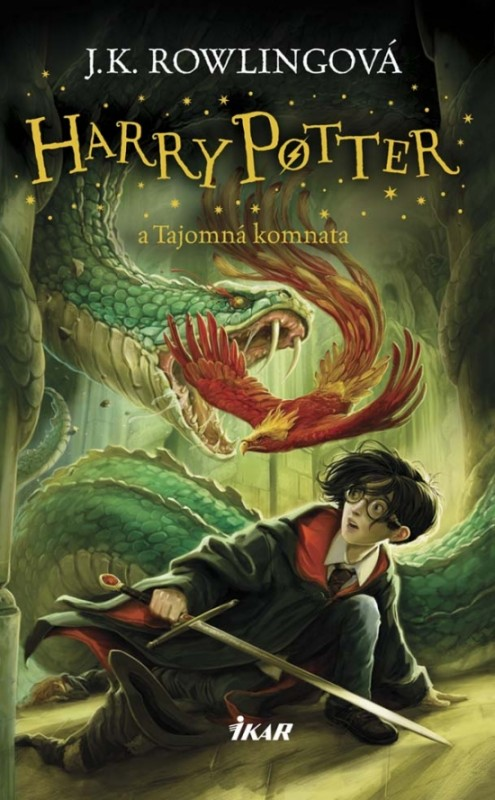 Harry Potter 2 - A tajomná komnata, 3. vydanie - Joanne K. Rowlingová