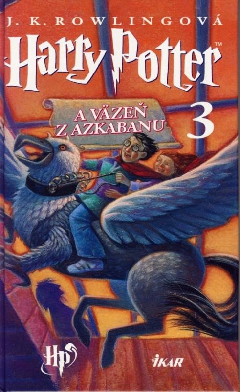 Harry Potter 3 - A väzeň z Azkabanu, 2. vydanie - Joanne K. Rowlingová