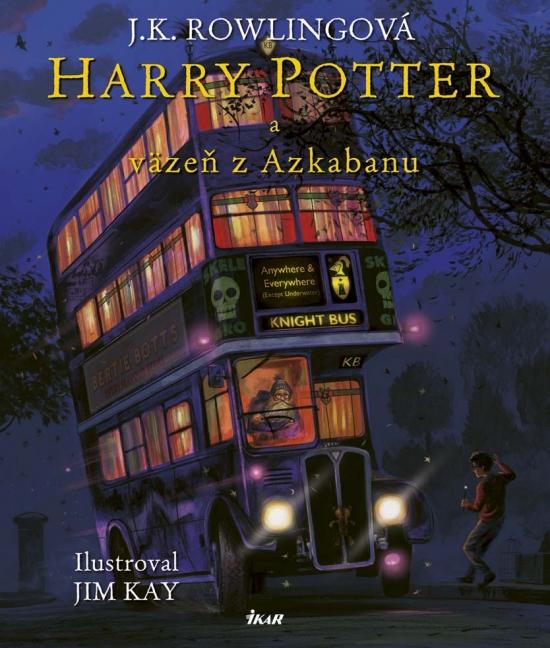 Harry Potter 3 – ilustrovaná edícia - Joanne K. Rowlingová