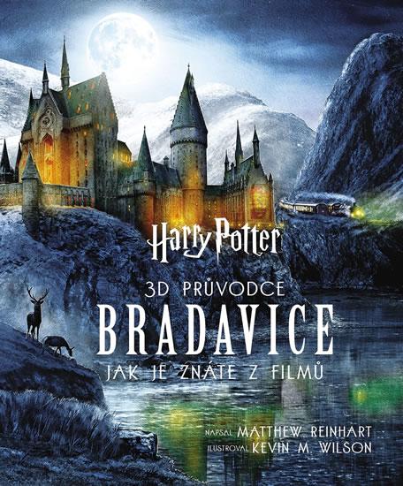 Harry Potter - 3D průvodce po Bradavice, jak je znáte z filmů - Matthew Reinhart