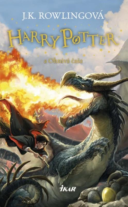 Harry Potter 4 - A ohnivá čaša, 3. vydanie - Joanne K. Rowlingová