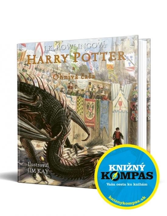 Harry Potter 4 a Ohnivá čaša – Ilustrovaná edícia - Joanne K. Rowlingová