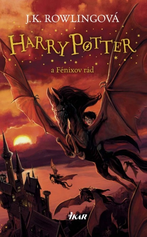 Harry Potter 5 - A Fénixov rád, 3. vydanie - Joanne K. Rowlingová