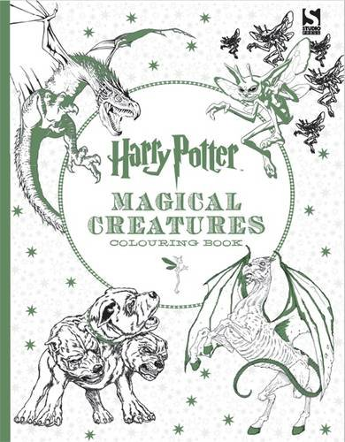 Harry Potter colouring book Magical Cratures