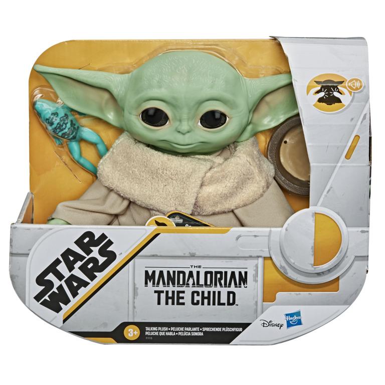 HASBRO - Baby Yoda hovoriaci plyš