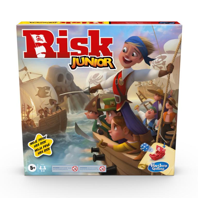 HASBRO - Detská hra Risk Junior