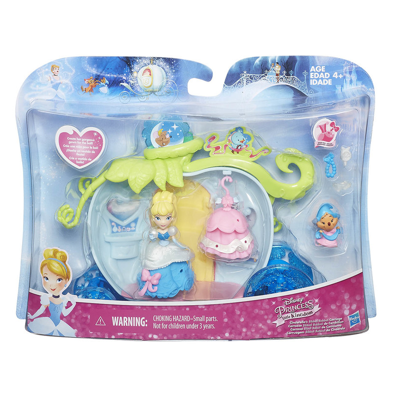 HASBRO - Disney Princess Mini Hrací Set S Bábikou Asst