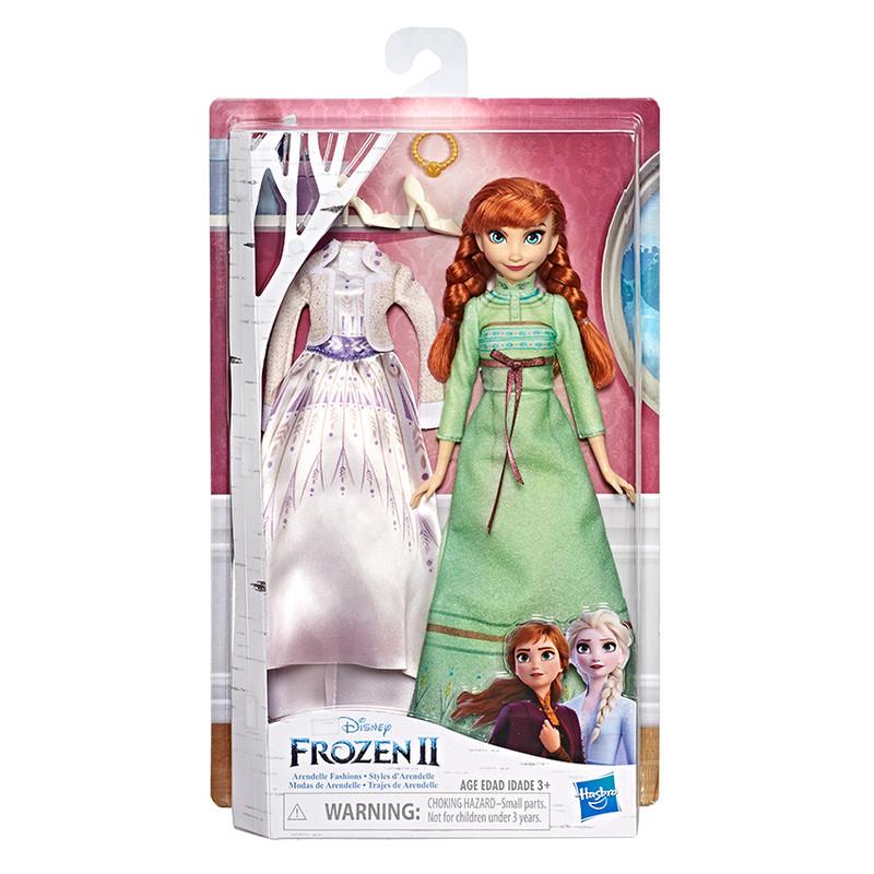 HASBRO - Frozen 2 bábika Anna s ExTransformers šatami
