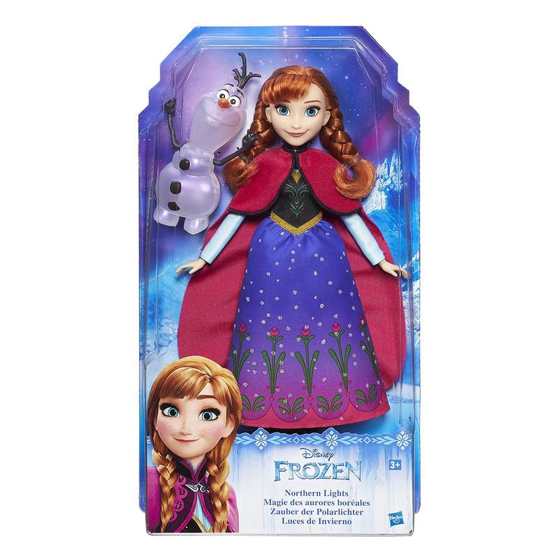 1fc89d417 HASBRO - Frozen Bábika Elsa/Anna S Trblietavými Šatami A Kamarátom Asst.